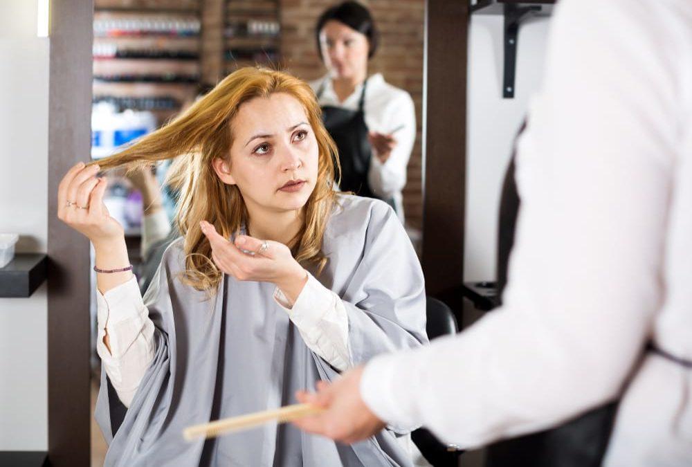 E se il parrucchiere fosse quello sbagliato?